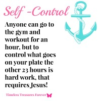 Guarding Our Heart By Excercising Self Control!
